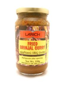Larich Fried Brinjal (Aubergine) Curry | Buy Online at the Asian Cookshop